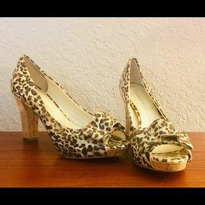 Franco Sarto Leopard Heels